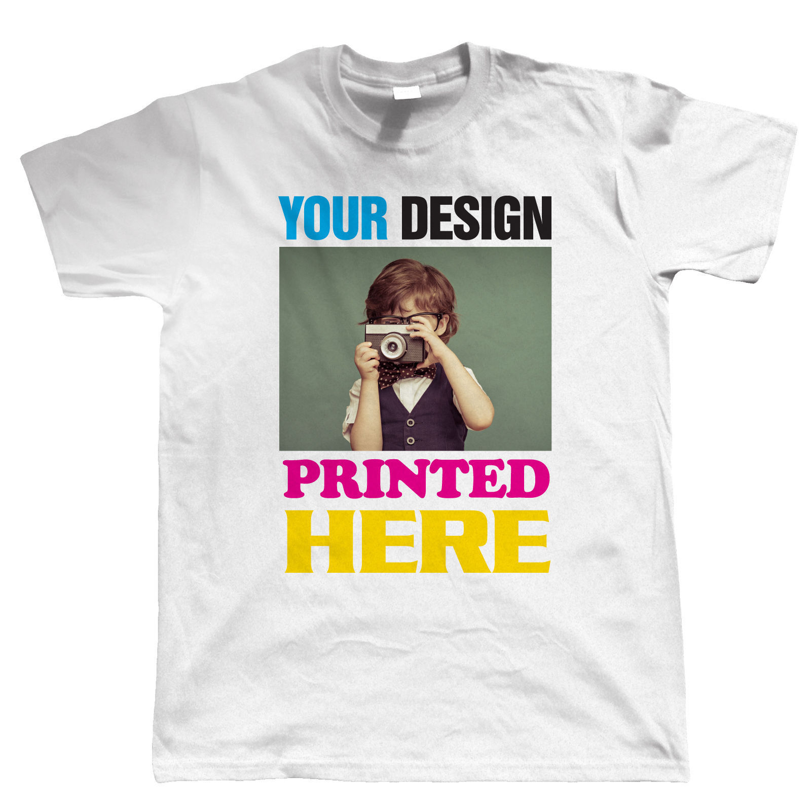 Design your own t-shirt long sleeve - Custom Printed T Shirts Men S Short Sleeve Top O Neck Custom Printing Personalised Your Image