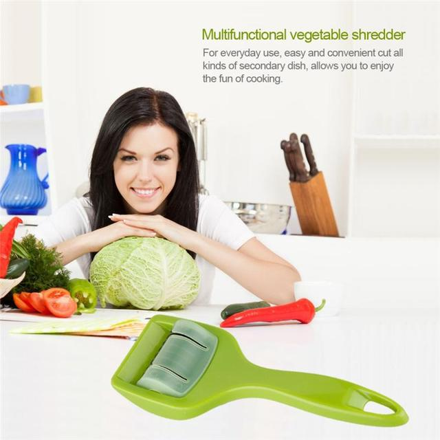 Stainless Steel Kitchen Accessories Gadgets Cooking Tools Blade Green Onion Chopper Slice