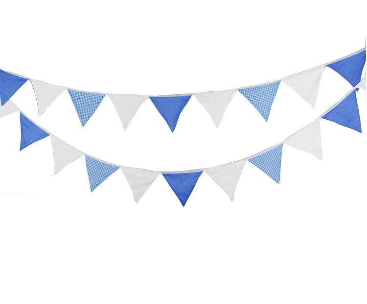 Image result for blue grey and white penant banner clipart