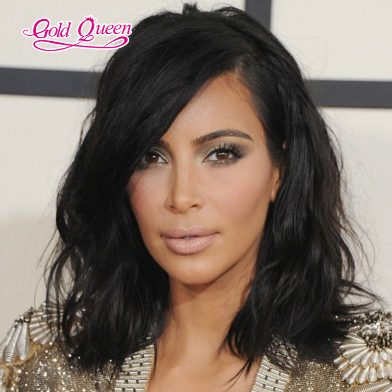 celebrity stars natural wave full lace/lace front human hair wigs glueless lace wig16inch lili human hair products free ship
