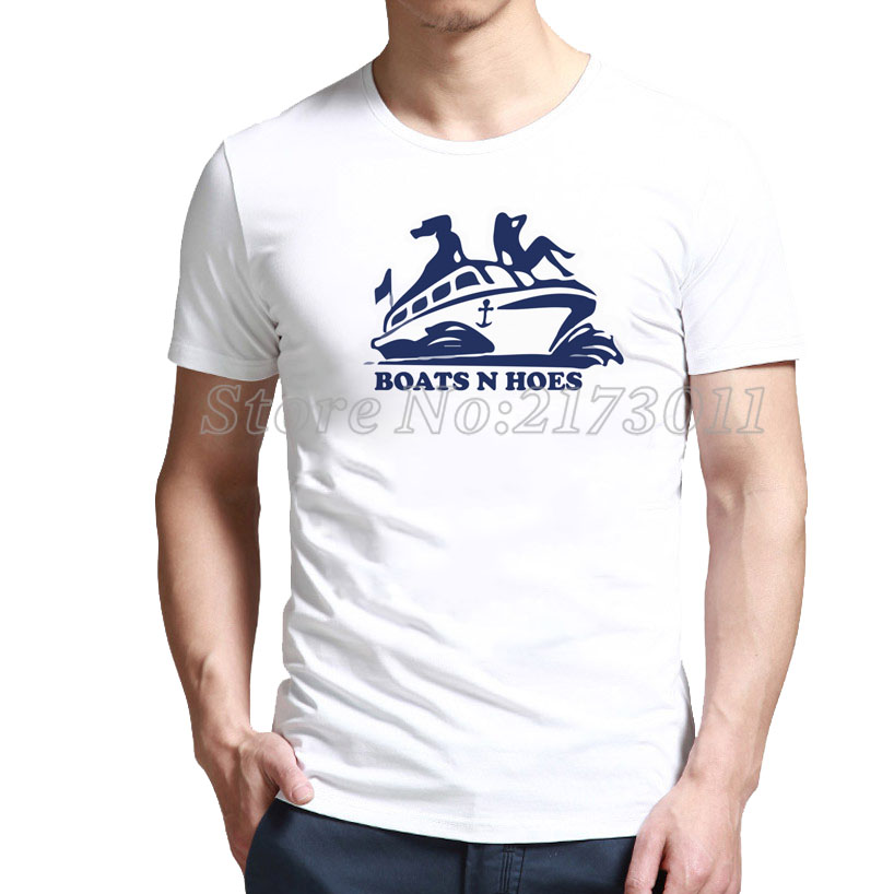 2016 Tops BOATS N HOES - Step Brothers T-Shirt with up to % 80 off(China (Mainland))