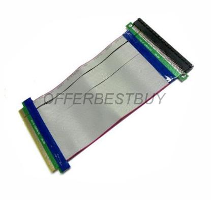 PCI-E 16X Flexible Extension PCI Express 16x Adapter PCI-E Extender Converter Riser Cable FREE SHIPPING(China (Mainland))