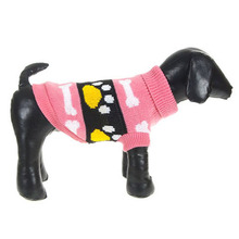Buy Hot New Cute Pet Dog Print Sweater Clothes XS S M L XL XXL Puppy Coat Soft Warm Jacket Jamper for $2.58 in AliExpress store
