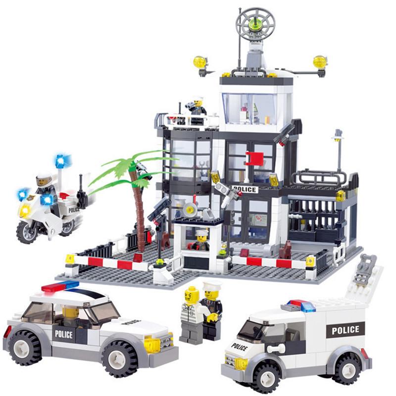 Lego voiture de police promotion achetez des lego voiture - Lego city camion police ...