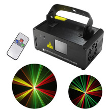 New IR Remote 8 CH DMX 512 PRO Mini 200mW RGY Laser Stage Lighting Scanner DJ Party Show Projector Equipment Light DM-RGY200(China (Mainland))