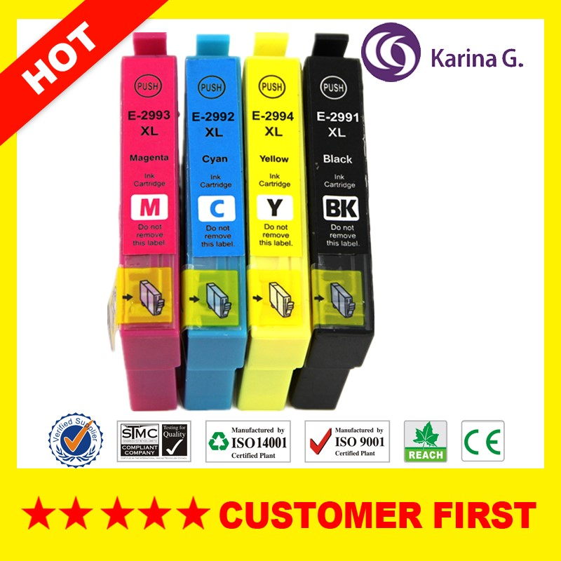 compatible inkjet cartridge t2996 29xlmultipack 4 colors