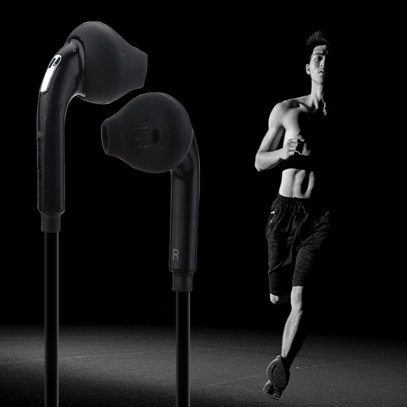 3.5mm Jack Standard Earphone Earbuds In-Ear Wired Headset with Mic Portable Sport Running Headphones Universal for Xiaomi iPhone