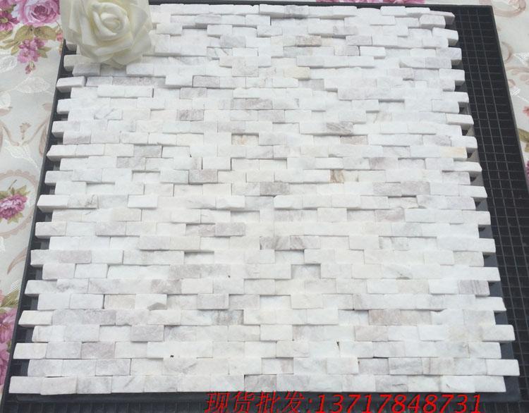 الحجر الطبيعي بلاط الموزاييك رخام أبيض جاز القسم الدهليز التلفزيون ملصقات الحائط ثقافة الحجر ومواد البناء(China (Mainland))