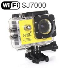 2015 New SJ7000 WiFi 1080P Sport Action Camera 1080P Full 2.0 LCD HD 30m Waterproof DV video Sports extreme mini cam recorder