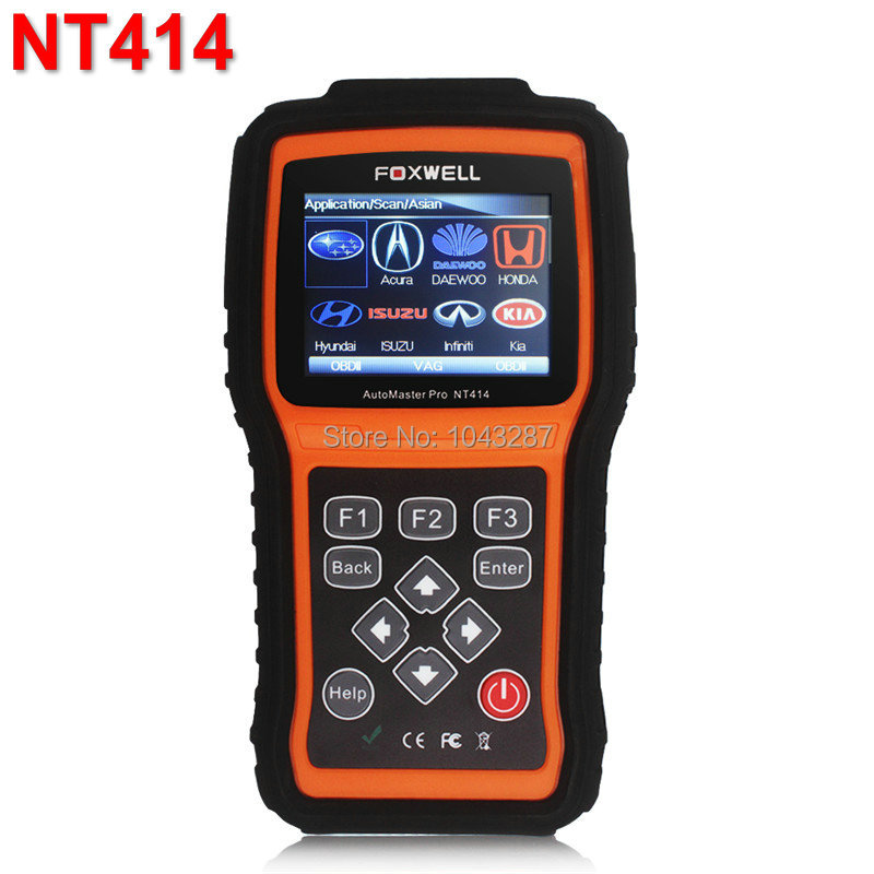 Foxwell NT414 All Brand Vehicle Four Systems diagnose, like ECU, ABS, Airbag and Transmission Diagnostic Tool <br><br>Aliexpress