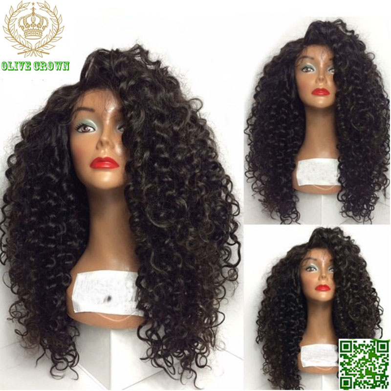 Malaysian Human Hair Lace Front Wigs 119