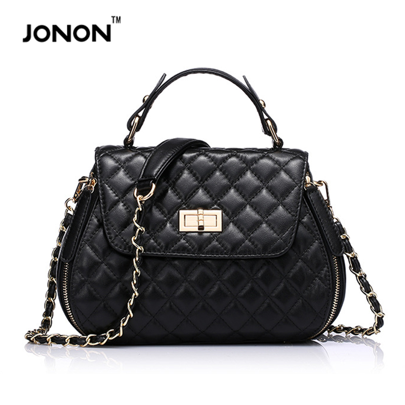 Jonon Women Leather Handbags Famous Brands Bags Stone Crocodile Pattern Shoulder Bags Crossbody Hand Bag Designer Brand Bolsos