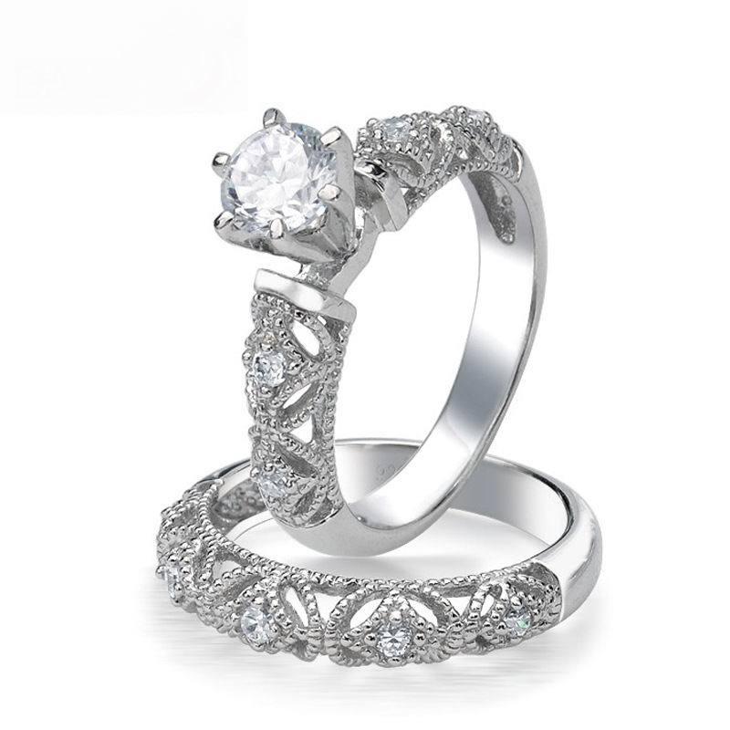 Fine Carving Craft 075 Ct AAA Grade CZ Diamond Round