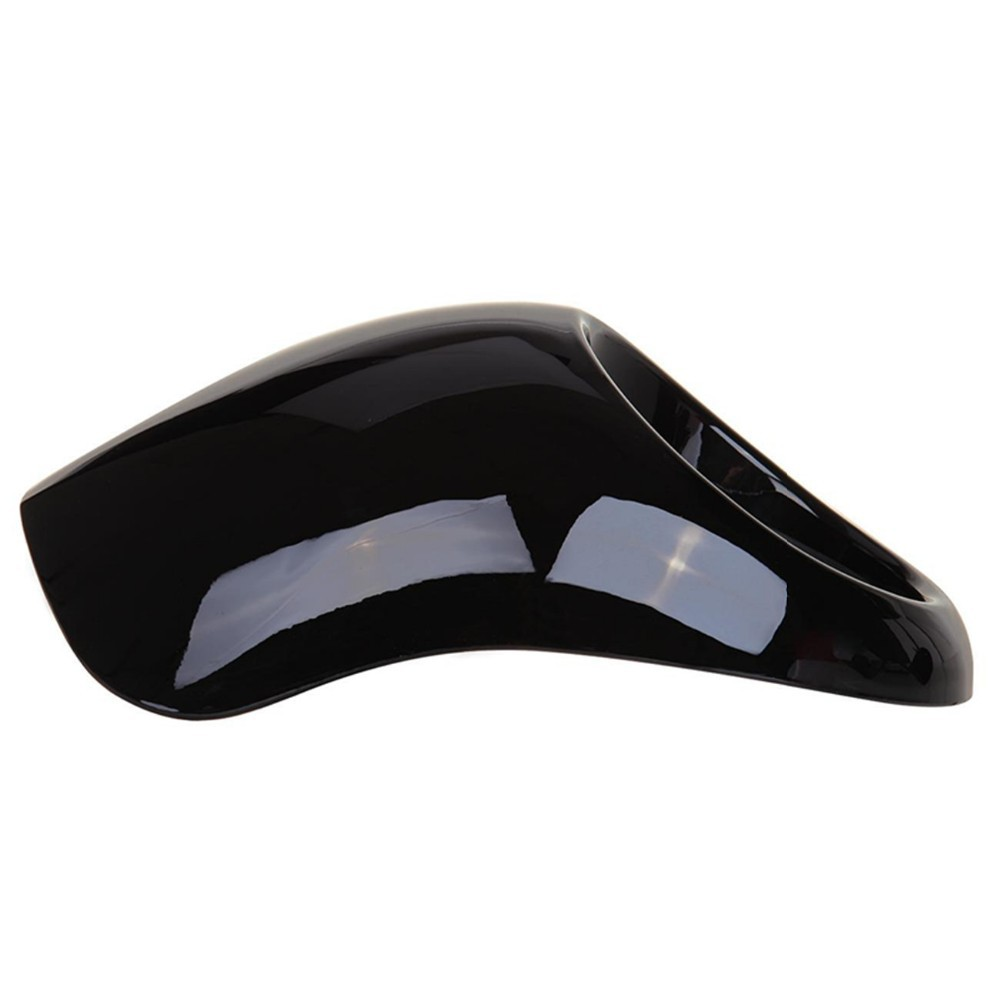 Black Headlight Front Visor Fairing Cool Mask Bezel For Harley Dyna Fat Bob Low Rider Stree Bob Super Glide wide Glide