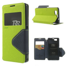 Buy Sony Xperia Z1 Compact Case Diary View Window Flip Leather Cover Case Sony Z1 compact Z1 Mini D5503 M51W Phone Bag Cases for $6.99 in AliExpress store