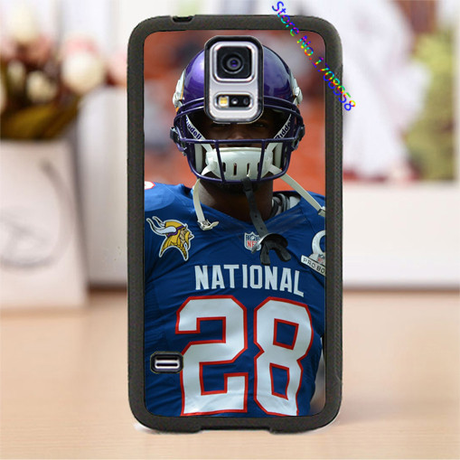 adrian peterson 2015 minnesota vikings american football cover case for samsung galaxy s3 s4 s5 s6 note 2 note 3 note 4 #WL0212(China (Mainland))
