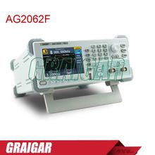 Ag2062f Dual channel generador de onda arbitraria, 60 MHZ de ancho de banda, 250 MSa / S frecuencia de muestreo, 1 M pts Arb longitud de onda