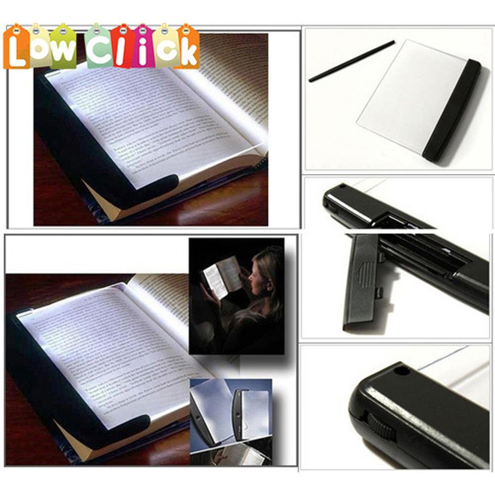 Big Promotion Book Light Reading Led Panel Book Light on your Page Not In your Face Adjustable Lighting(China (Mainland))