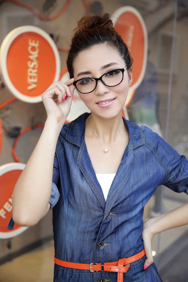 61ecf7a6e1c7 Fashion Cheetah Earstems glasses frames! Women Ladies Decorative Glasses!  High Quality!No Degree! If you need dioptre lens