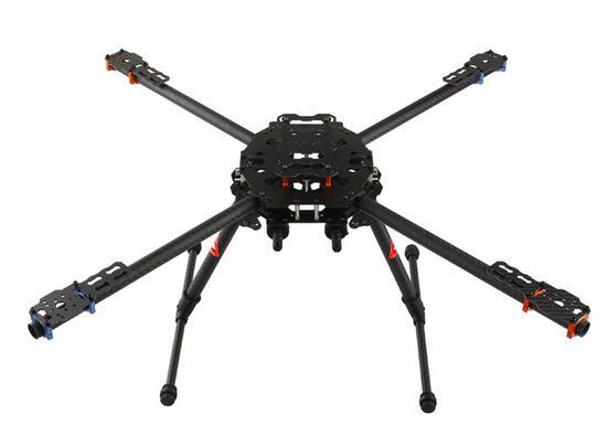Таро ЖЕЛЕЗНЫЙ ЧЕЛОВЕК 650 складной 3K Углеродное волокно Квадрокоптер рама 45