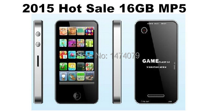 "2015 New Hot Sale Russia Brazil 2.8"" 16GB Touch Screen I9 4G Style Mp3 Mp4 MP5 Player with Camera Game FREE SHIP Gifts Wholesale(China (Mainland))"