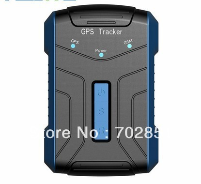 Free Shipping GPS Vehicle Tracker  AVL10 90days standby 32Mb Flash Memory SMS link google map