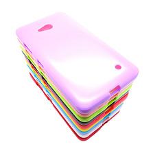 Красочные мягкие силиконовые тпу защиты чехол для Nokia Lumia 640 гель кожного покрова бесплатная доставка