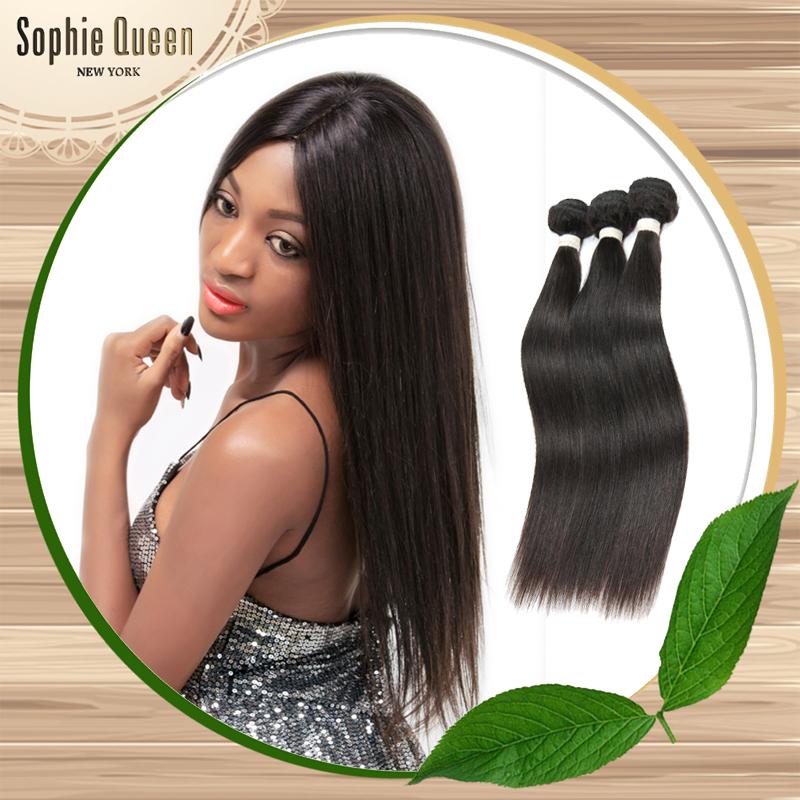 BEST BRAZILIAN Virgin Hair Straight 8A 3PCS Unprocessed Silky Straight Brazilian Hair Weave 8-30Inch Imported Human Hair(China (Mainland))