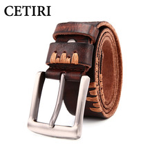 Buy Cinto Masculino 2017 Designer Genuine Leather Belts Men High Luxury Brand Pin Buckle Casual Business Men Belts Kemer for $22.03 in AliExpress store