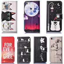Buy Flip PU Leather Mobile Phone Cases Apple iPhone 5 5S 55S 5G SE 6C 5SE iphone55s 4.0 inch Covers Wallet Bag Card Holder Shell for $3.68 in AliExpress store