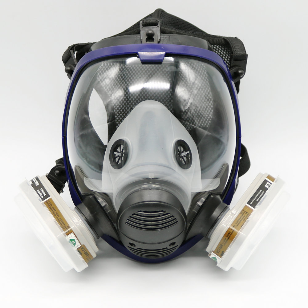 7 Piece Suit Painting Spraying Similar For 6800 Gas Mask Full Face Facepiece Respirator(China (Mainland))