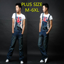2014 Men overall fashion bib Jeans Trousers pants Mens Skinny Jean Overalls,Men Denim Jeans jumpsuit  combinaison pantalon men(China (Mainland))