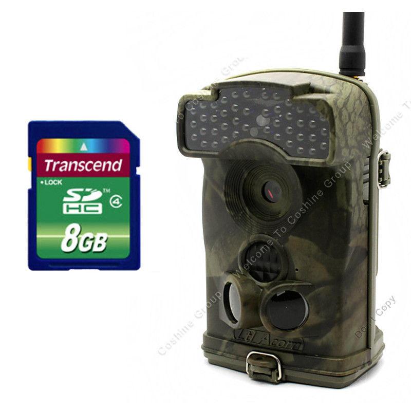 Free Shipping!Ltl Acorn 6310WMG HD 12MP 940NM No Glow IR MMS Cellular Wide Angle Trail Camera+ Free 8GB<br>