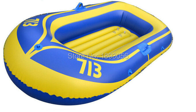152x103cm 0.4mm Thickened PVC Inflatable Drifting Fishing Boat,oar+safety rope+pump+repair kit(China (Mainland))