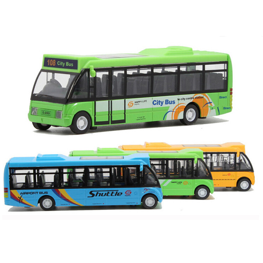 2015 New Coming School Bus Car Model Toys for Children's Christmas Present, 3 Color City Bus Kids Toys Free Shipping(China (Mainland))