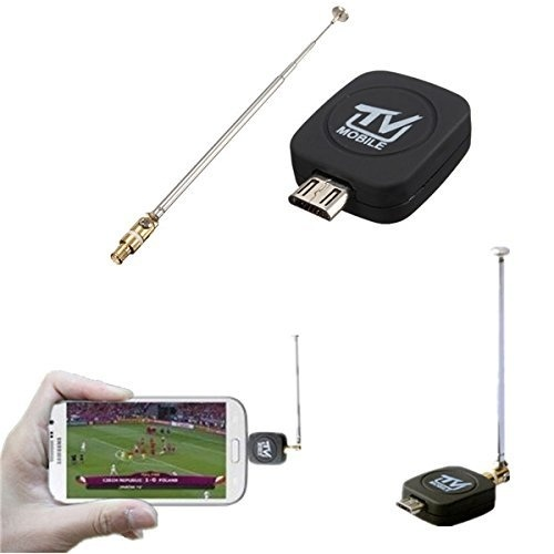Digital DVB-T2 Micro USB Tuner TV Receiver Stick For Android Cell Phone/Tablet