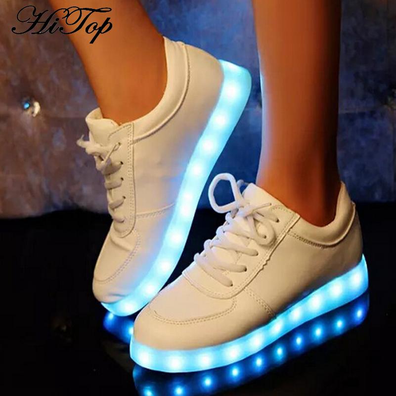 New 8 Colors Girls Glowing Leisure Flat Shoes LED Luminous Shoes Fashion Unisex Casual Shoe Men &amp; Women USB Charging Light Shoes<br><br>Aliexpress
