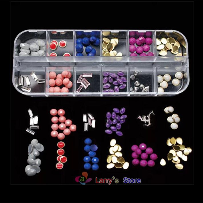 Стразы для ногтей Larrry's Store 10pcs 3d 12 DIY NC022x10 стразы для ногтей 10pcs 3d diy 2848