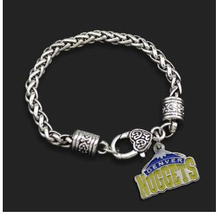 1pcs fashion jewelry gift NFL Lakers Kobe Bryant basketball team logo Alloy Drip sports Basketball Players Crude Bracelet(China (Mainland))