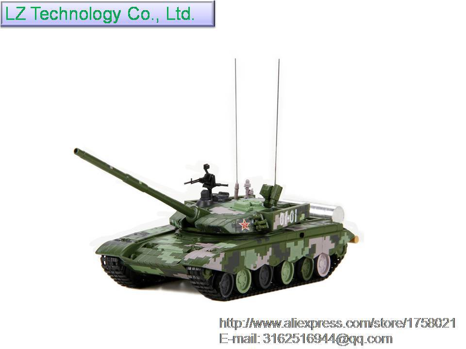 1:72 simulation alloy Chinese Type 99 main battle tanks model, share fashion crafts gifts collections(China (Mainland))