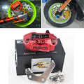 RPM CNC Electric Motorcycle Scooter Brake Calipers 200mm 220mm Disc Brake Pump Adapter Bracket For Yamaha