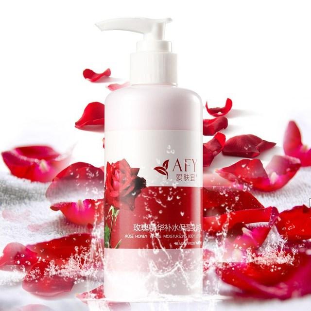 AFY Damascus Rose Body Cream Whitening Moisturizing Body Lotion Anti-wrinkle Body Skin Care Cream