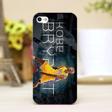 pz0018-4-3 kobe Design Customized cellphone transparent cover cases for iphone 4 5 5c 5s 6 6plus Hard Shell