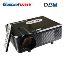 Excelvan CL720D Ditital Full HD Multimedia LCD LED Video Home Theater Projector 3000 lumens 1280*800 1080P HDMI/VGA/ AV/DTV(China (Mainland))