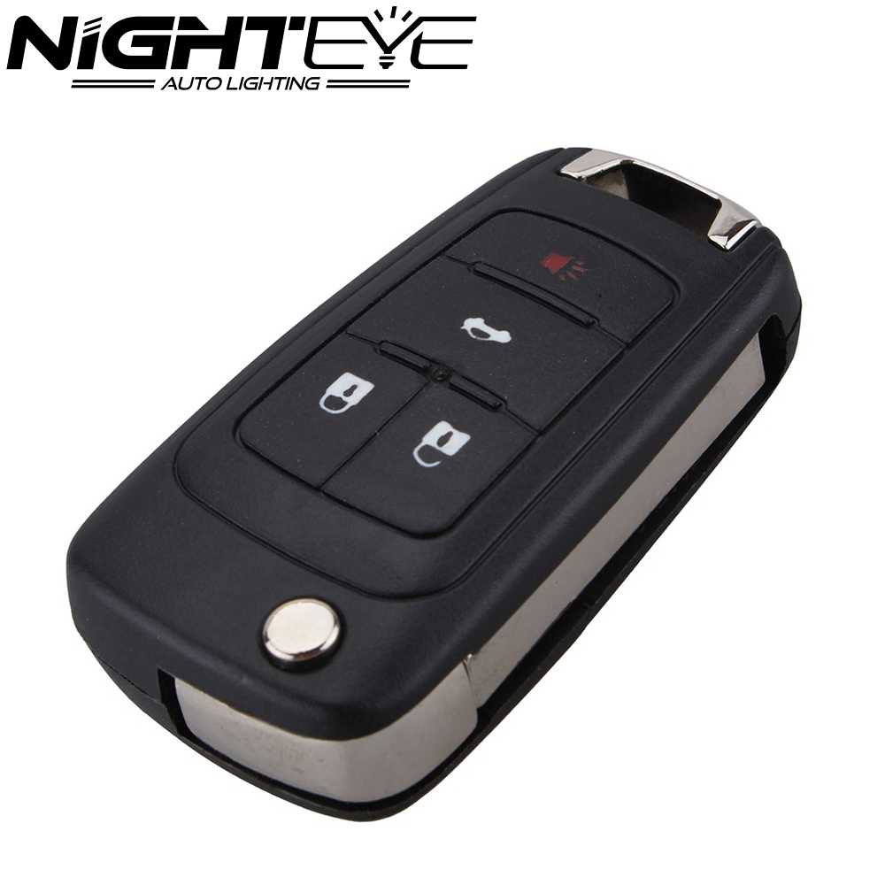 4 Buttons Folding Key Replacement Case Shell For Buick Lacrosse Regal Verano Car Styling Free Shipping(China (Mainland))