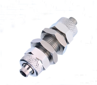 tube 8mm Bulkhead Union pneumatic brass Rapid Fittings For Plastic Tube tube RPM 8(China (Mainland))