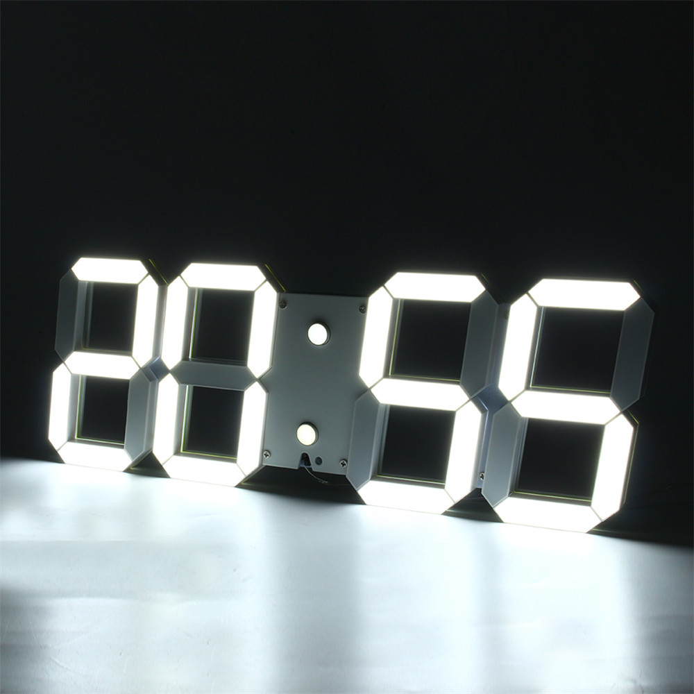 3d watch led digital wall clock
