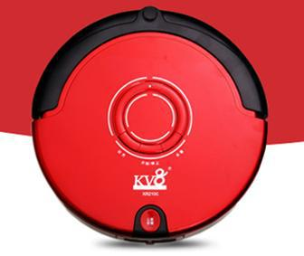4 In 1 Multifunction Robot Vacuum Cleaner (Sweep,Vacuum,Mop,Sterilize),LCD Touch Screen,Schedule,2-Way Virtual Wall,Auto Charge