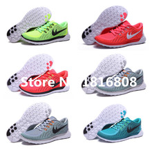 Free shipping 2015 new colours men& women free run running shoes barefoot sports sneakers casual athletic 5.0 walking shoes