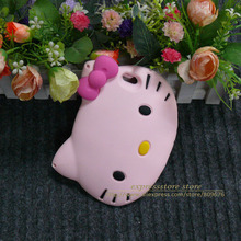Buy 3D cartoon big face hello kitty case iphone 6 5 cute cat phone case back cover iphone 6 6S 5G 5S shell soft silicon case for $4.80 in AliExpress store